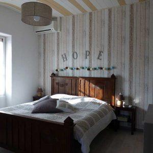 Chambre 3 - Le Park des Collines, 10 Rue Ernest Mottin, 26750 Genissieux
